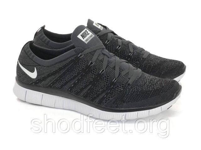 cc5aa8c6 Мужские кроссовки Nike Free 5.0 Flyknit NSW Black/White - ShodFeet в  Харькове