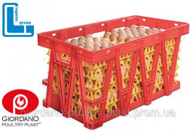 Ящик для перевозки яиц в лотках Lindamatic