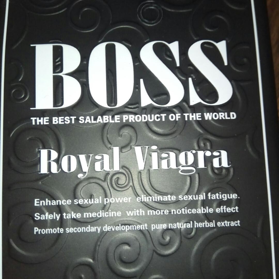 Препарати для чоловічої потенції, Boss Royal (27 таблеток)