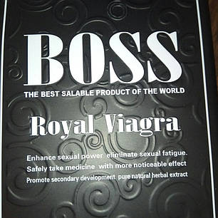 Препарати для чоловічої потенції, Boss Royal (27 таблеток), фото 2