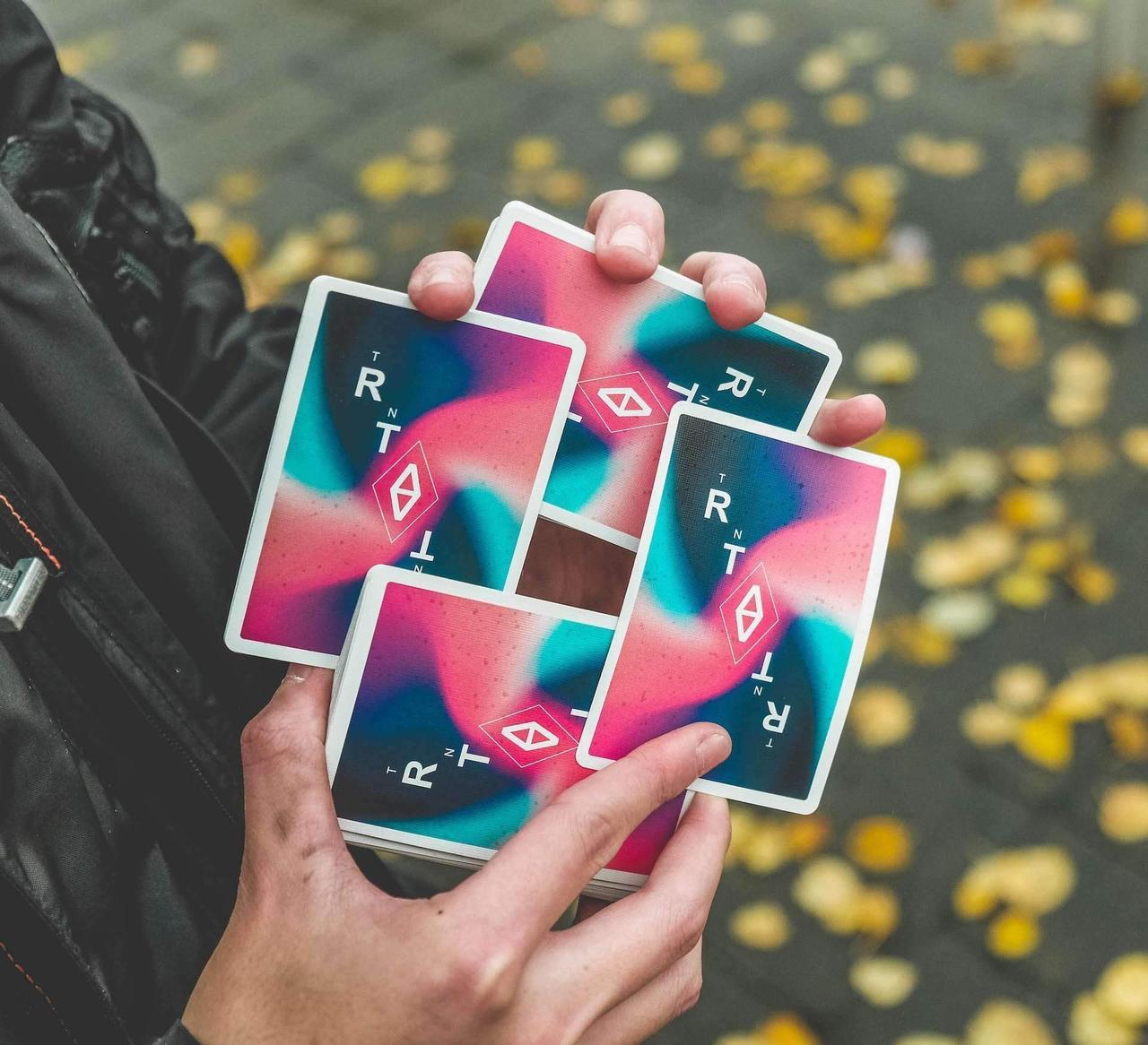 Карты игральные   Turn Playing Cards
