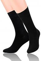 Мужские классические черные носки Steven 063