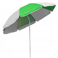 Садовый зонт ТЕ-002 Time Eco  бело-зеленый