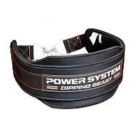 Пояс для отягощений Power System Dipping Beast PS-3860 Black/Red, фото 1