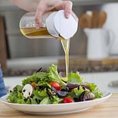 Универсальный блендер для приготовления заправки к салату BlenderBottle Whiskware Dressing Белый (Dressing)