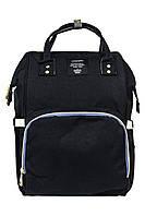 Рюкзак-сумка для мам органайзер L-16369 черный