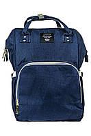 Рюкзак-сумка для мам органайзер L-16369 синий