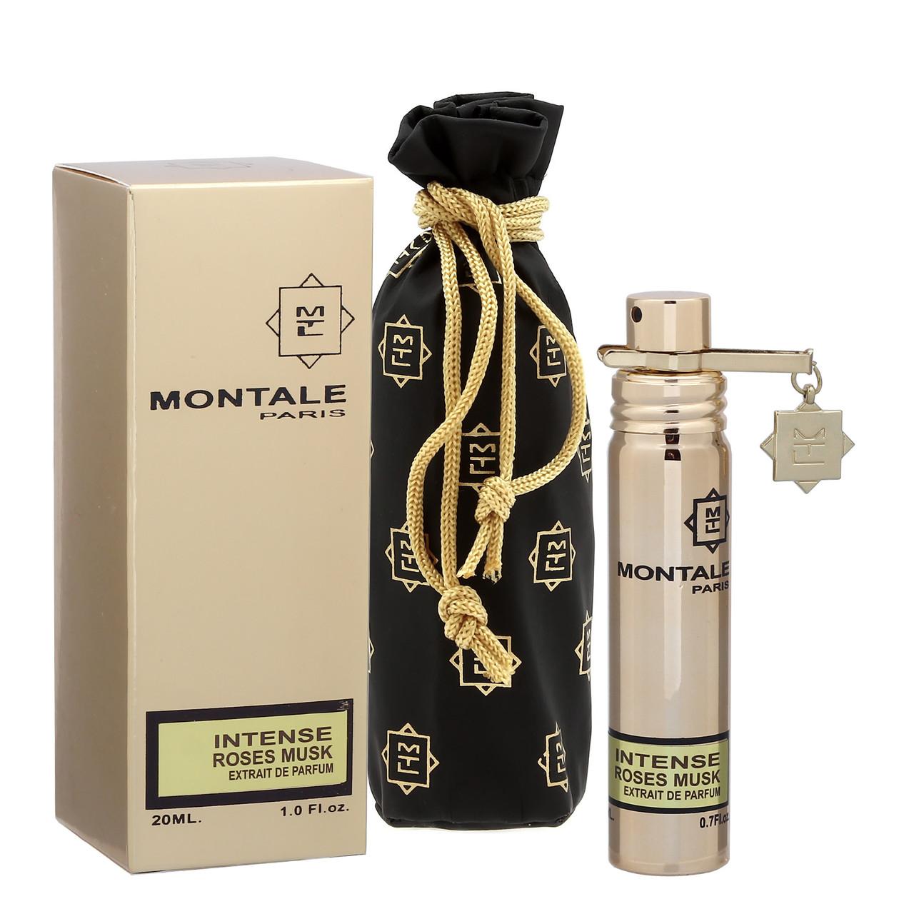 Парфюмированная вода с феромонами женская Montale Intense Roses Musk, 20 мл