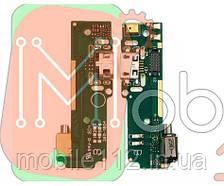 Нижняя плата Sony F3111 Xperia XA F3112 F3113 F3115 F3116 с разъемом зарядки, микрофоном, виброзвонком