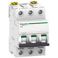 Автоматический выключатель iC60L 3P 40A C Schneider Electric (A9F94340), фото 1