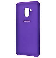 Накладка Silicone Case для Samsung Galaxy A8 Plus