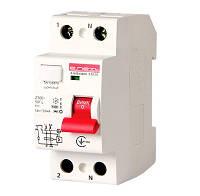 Вимикач диференціального струму e.rccb.stand.2.16.10 2р, 16А, 10mA