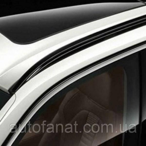Оригинальный рейлинг на крышу правый матово-черный BMW Х5 (F15) (51137295816)