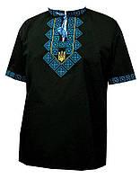Мужская вышитая футболка «Сигма»
