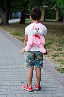 Рюкзачок зайчик розовый