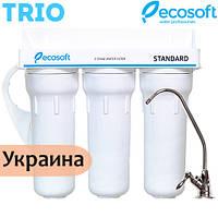Тройная система очистки воды Ecosoft Standard Trio, фото 1