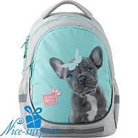 Школьный ортопедический рюкзак для девочки Kite Studio Pets SP19-700M