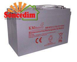 Гелева батарея KM-NPG12-70 , фото 2