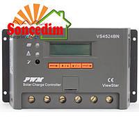 Контроллер ШИМ 30А 12/24/36/48В с дисплеем (VS3048BN) EPsolar(EPEVER)