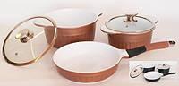 Набор посуды (Набор кастрюль) 5 предметов Peterhof PH-15757