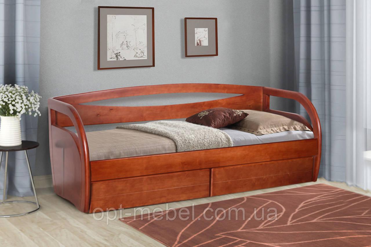 Кровать Бавария 80*200 с ящиками