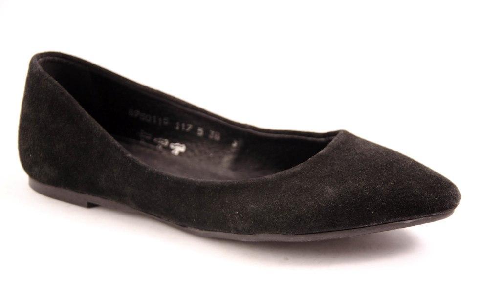 Балетки женские черные Romani 8950115 р.36-41