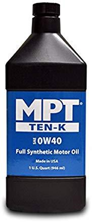 MPT ® 0W-40 Ten-K Full Synthetic Motor Oil