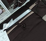 Комплект постельного белья сатин delux first choice евро размер Dream style bitter, фото 2