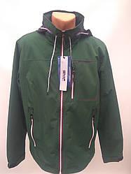 Ветровка сетка мужская в стиле Gentleman Forest GMF зеленая