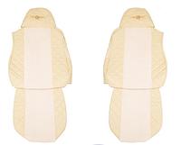 Чехлы для сидений - Elegance, DAF XF 95 & XF 105 (prod. do 2012) шампань