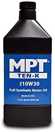 MPT ® 10W-30 Ten-K Full Synthetic Motor Oil