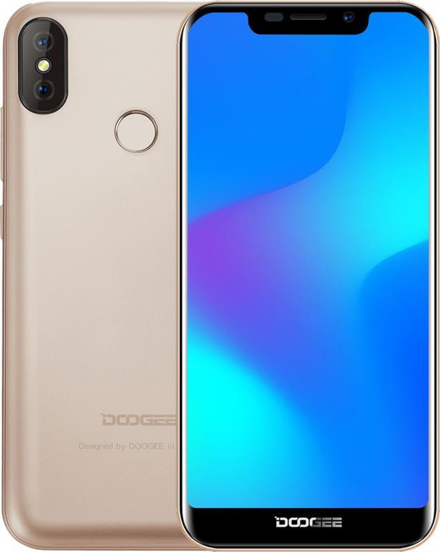 Смартфон Doogee X70 Dual Sim Gold (6924351667412)