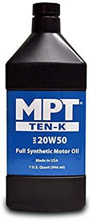 MPT ® 20W-50 Ten-K Full Synthetic Motor Oil