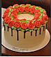 Кондитерская насадка лепесток розы раб часть на выходе  2 см  №126, фото 3