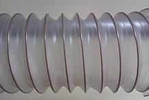 Гнучкий шланг ПВХ д. 50-250мм товщина 0,5 мм, шланги для деревообробних верстатів, Польща Rondo2