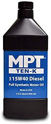 MPT ® 15W-40 Diesel Ten-K Full Synthetic Motor Oil 3.785 л