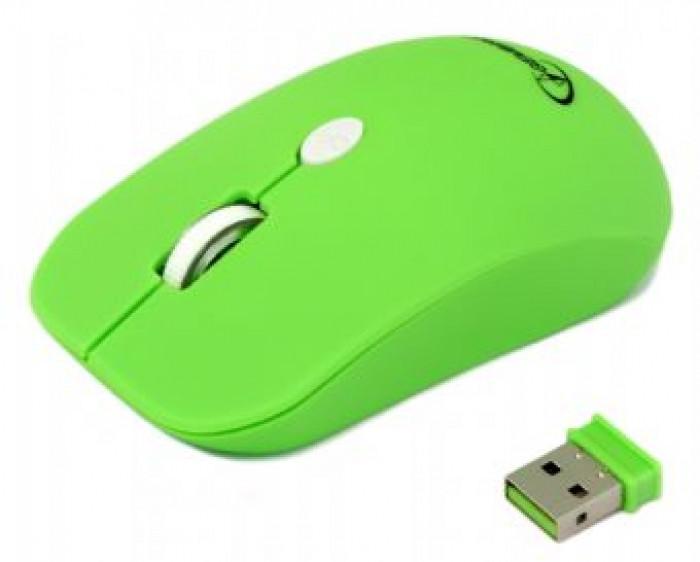 Мышь беспроводная Gembird MUSW-102-G Green USB