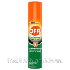 OFF! Extreme Аэрозоль - Репеллент от комаров и клещей 100 мл.
