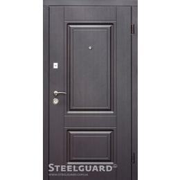 """Входная дверь """"Steelguard Resiste DJ-30"""" 2040*860  венге темный"""