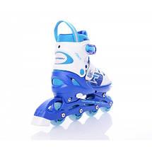 Детские раздвижные роликовые коньки Tempish Swist Flash (светящиеся колеса), фото 2