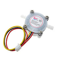"""1/4"""" датчик расхода воды, расходомер жидкости 0,3-6л/мин. для Arduino"""