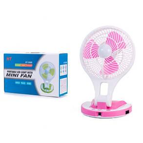 Аккумуляторный вентилятор настольный HT-5580, фото 2