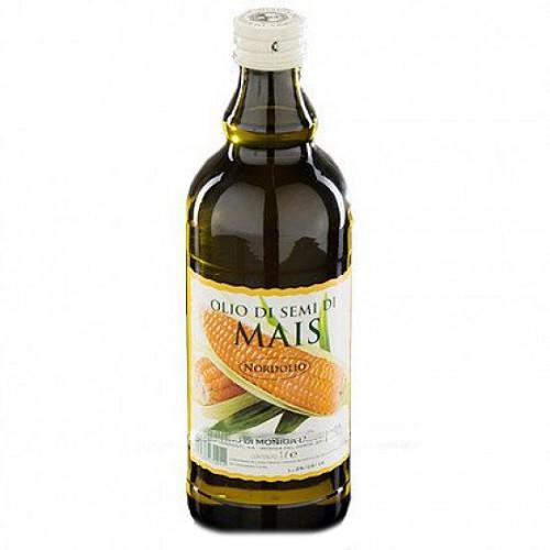 Кукурузное масло Ollio di semi di mais 1л (Италия)