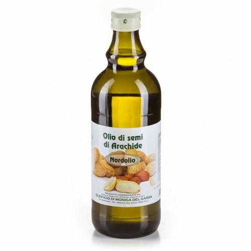 Арахисовое масло Ollio di semi di arachide 1л (Италия)