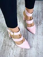 Шикарные удобные женские кожаные туфли Belisimo, фото 1