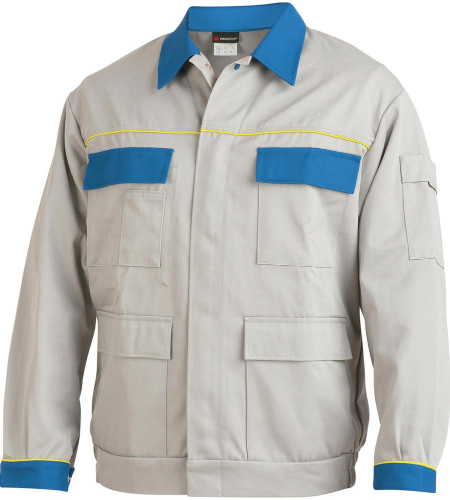 Куртка светло-серая ХБ+ПЕ Wurth
