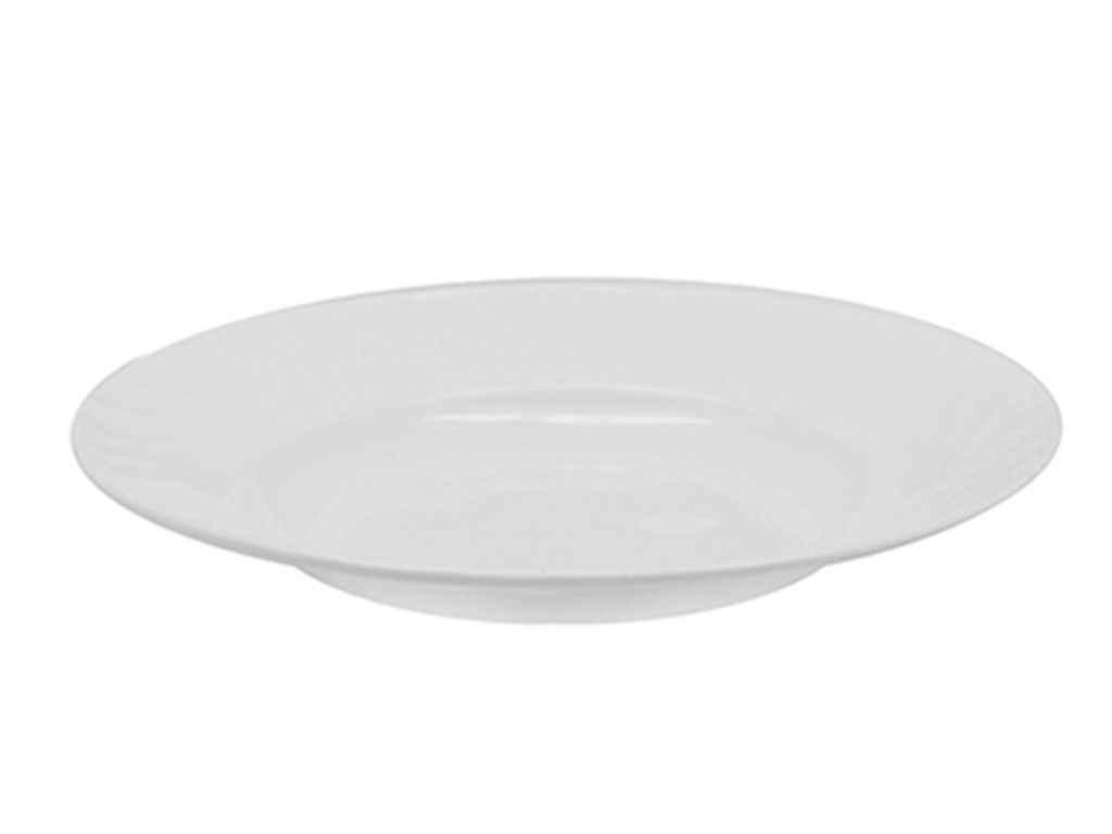 "Тарелка глубокая Белая 230 мм в упаковке 6 шт ""Stenson"""