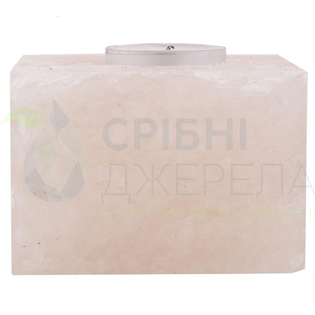 Подсвечник из белой соли Квадрат