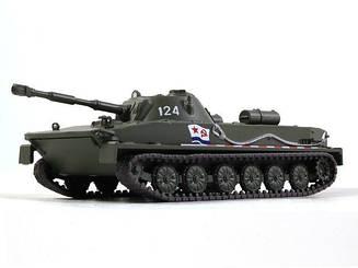 Русские Танки №69 ПТ-76   Модель коллекционная в масштабе 1:72   Eaglemoss