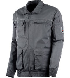 Куртка классическая Modyf серая Wurth